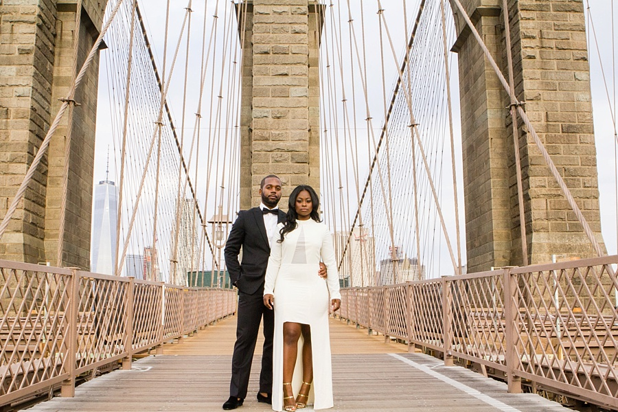 A Chic and Stylish Brooklyn Engagement Shoot