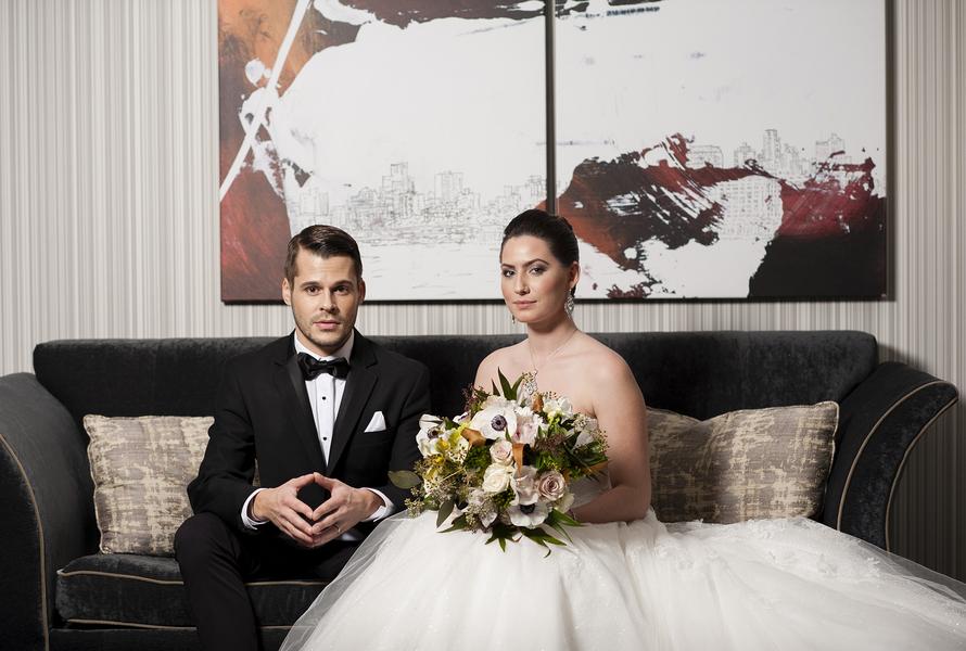 Romantic French Elegance Hotel Inspiration Shoot in Philadephia