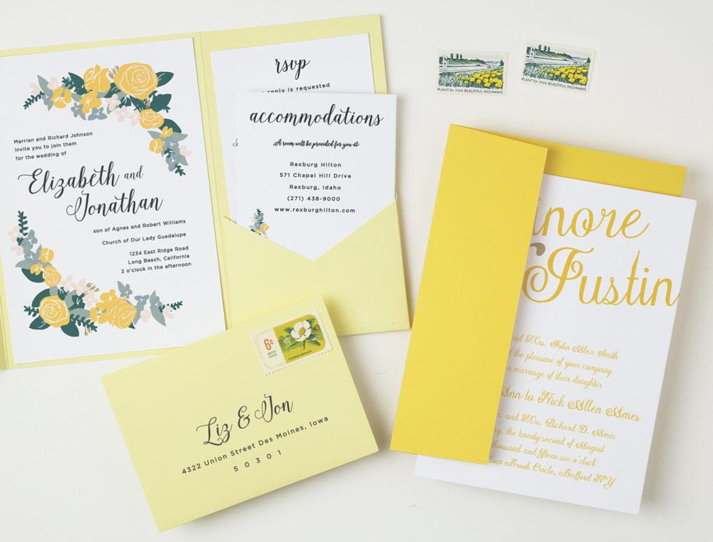 stylish wedding stationery from basic invite the coordinated bride