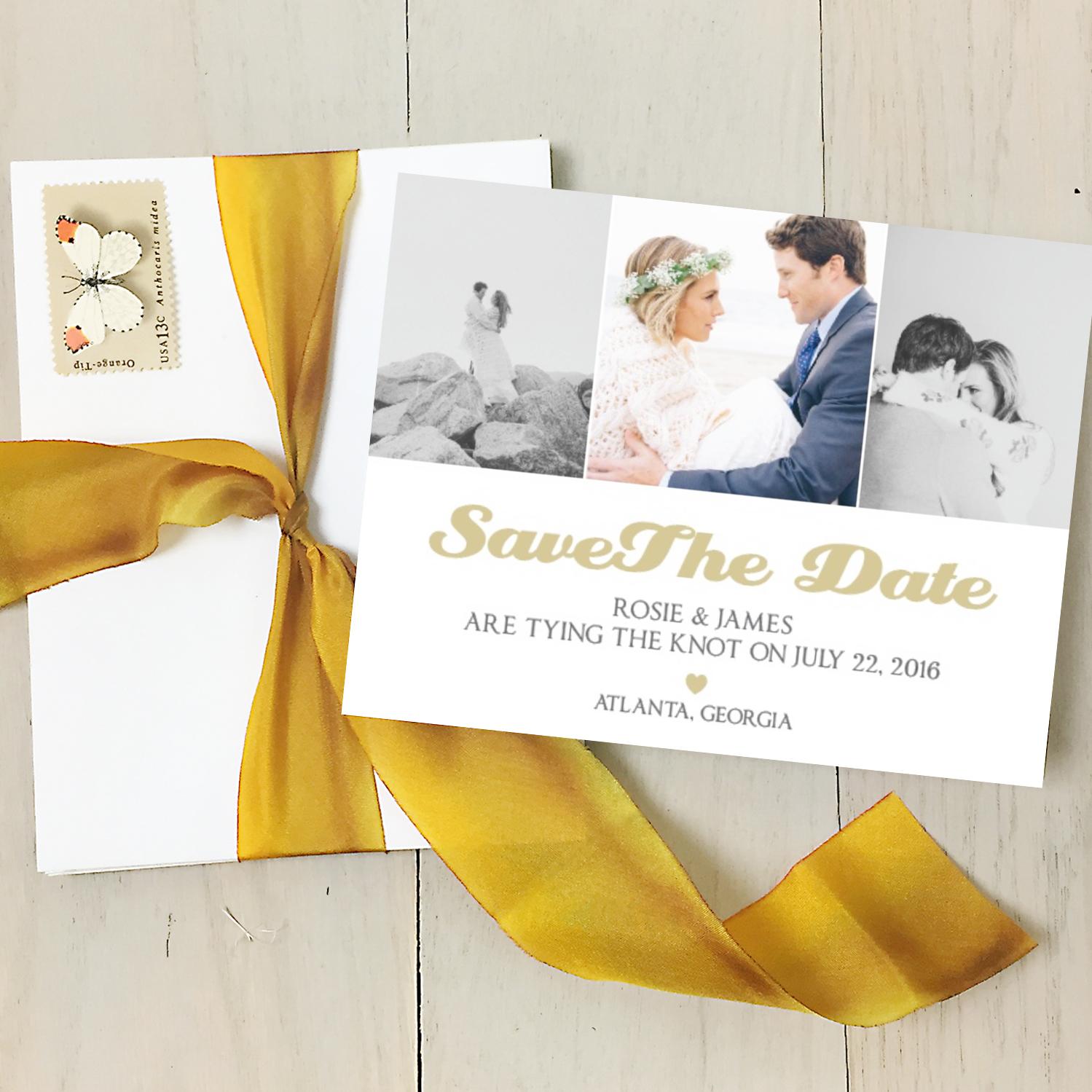 Stylish Wedding Stationery from Basic Invite | The Coordinated Bride