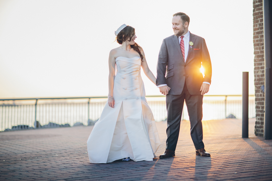 A Nautical Themed Wedding on the Brooklyn Riverfront
