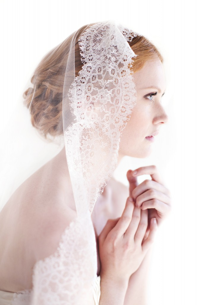 The Coordinated Bride Anna Maria Veil