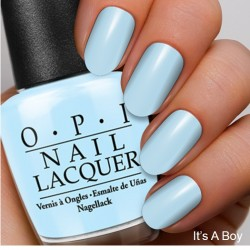The Coordinated Bride OPI 2016 Its A Boy