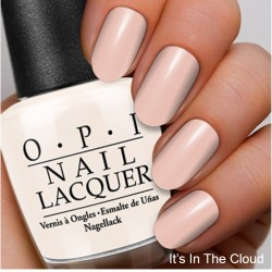 The Coordinated Bride OPI 2016 Its In The Cloud