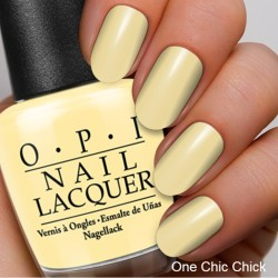The Coordinated Bride OPI 2016 One Chic Chick