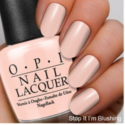 The Coordinated Bride OPI 2016 Stop It I'm Blushing
