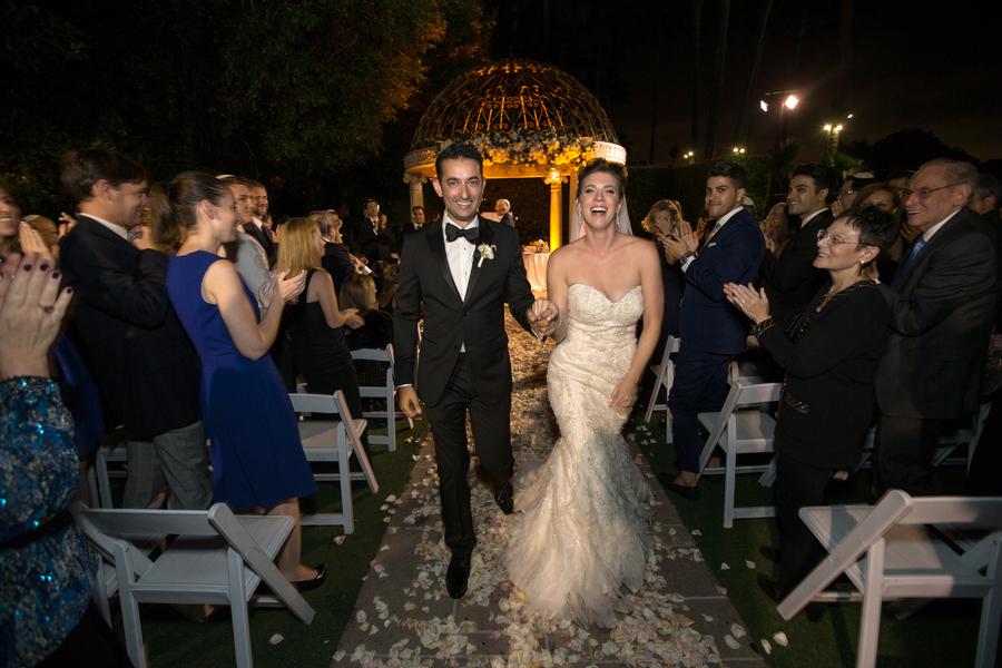 Luxury Beach Hotel Wedding in Marina Del Rey