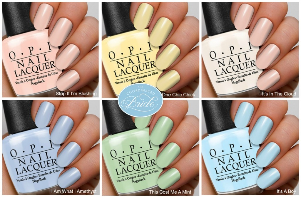 OPI Soft Shades Pastel 2016 Collection