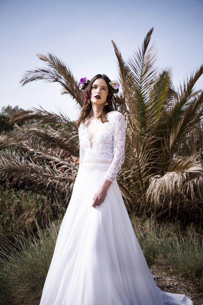 The Coordinated Bride and Christos Costerellos BR17 02 (2)