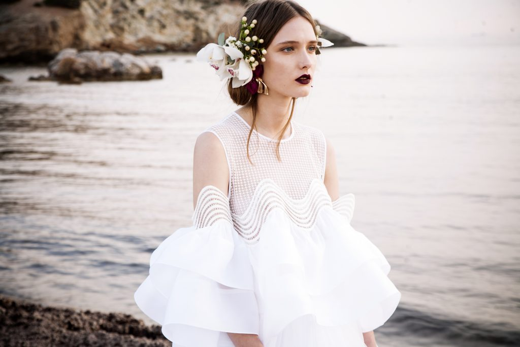The Coordinated Bride and Christos Costerellos BR17 22 TOP