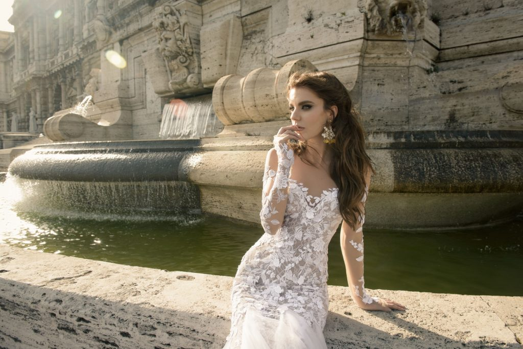 The Coordinated Bride and Julie Vino Roma Collection 1104 Antonia 1