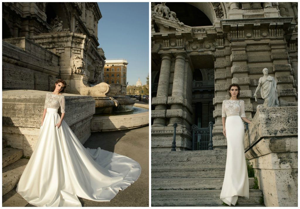 The Coordinated Bride and Julie Vino Roma Collection 1105 B Pricilla 1