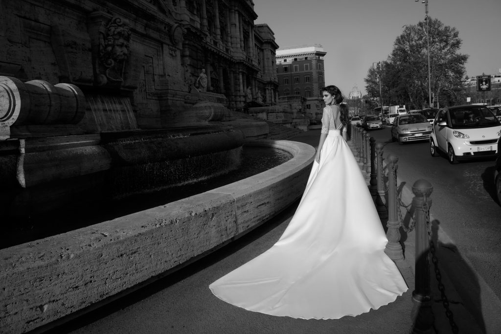 The Coordinated Bride and Julie Vino Roma Collection 1105B Prisilla 2