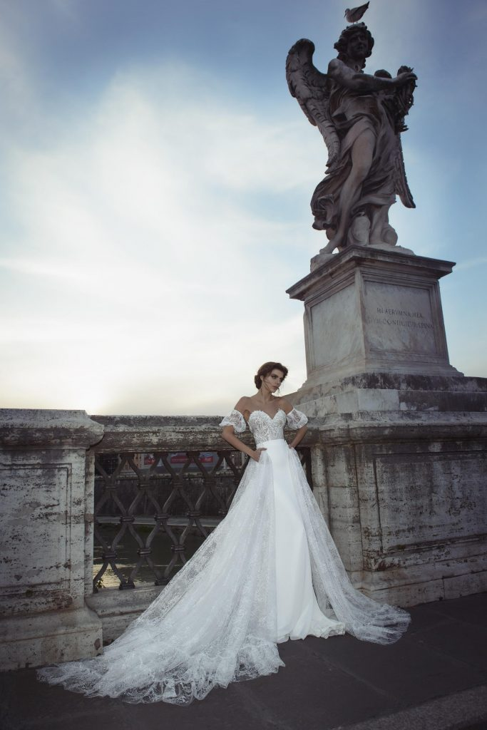 The Coordinated Bride and Julie Vino Roma Collection   1108 2 Valentina