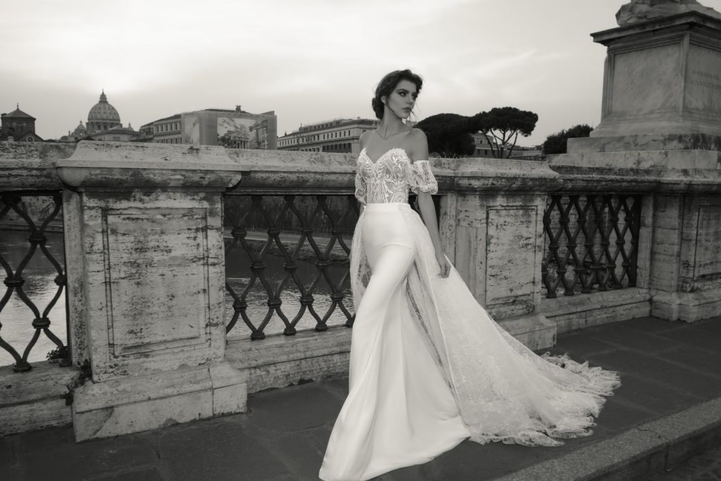 The Coordinated Bride and Julie Vino Roma Collection  1108 Valentina 2