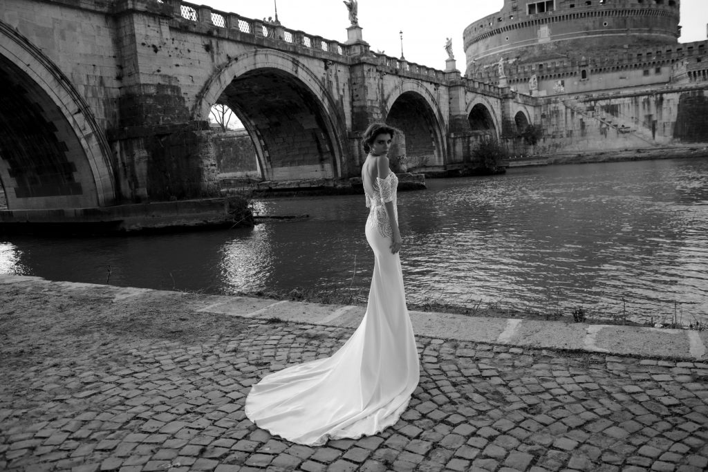 The Coordinated Bride and Julie Vino Roma Collection  1109 4 Cassia