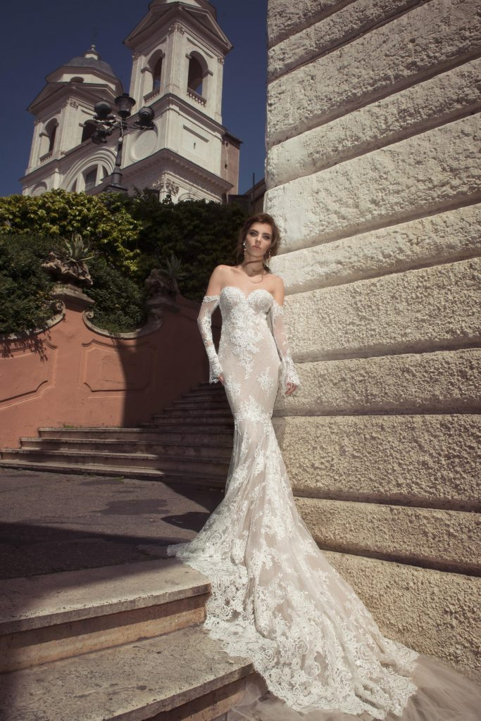 The Coordinated Bride and Julie Vino Roma Collection  1114 Camilla 1
