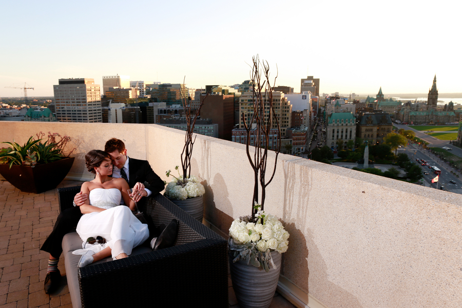 Wedding of Michelinne and Darren at the Ottawa Westin in Ottawa September 6, 2012. Photo by Blair Gable