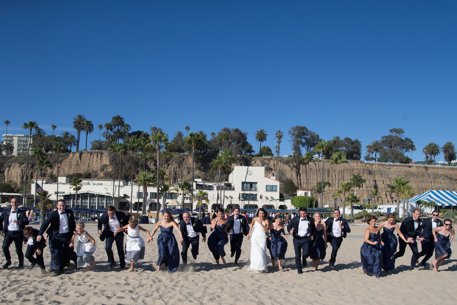 A Nautical Southern California Beach Wedding