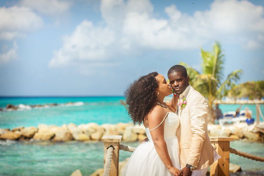 An Aruba Destination Wedding, Jamie & Kesley