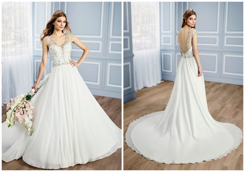 The Coordinated Bride Val Stefani J6433_A