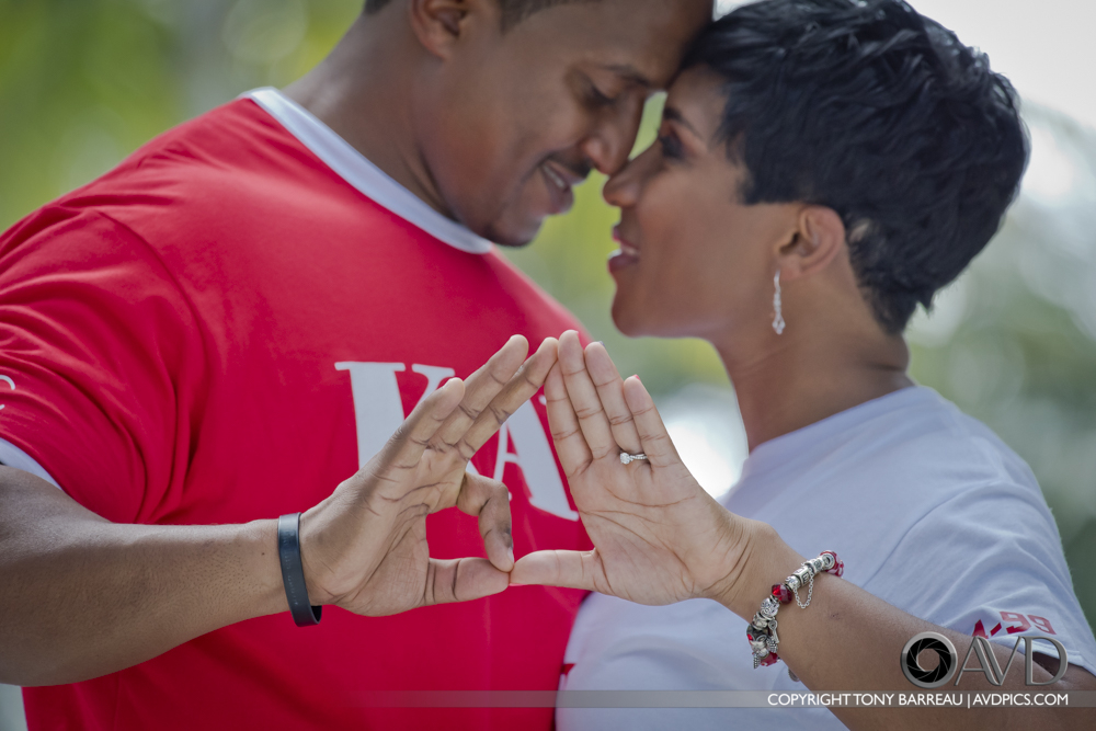 A Crimson and Kream Engagement Shoot, Nae and Calvin