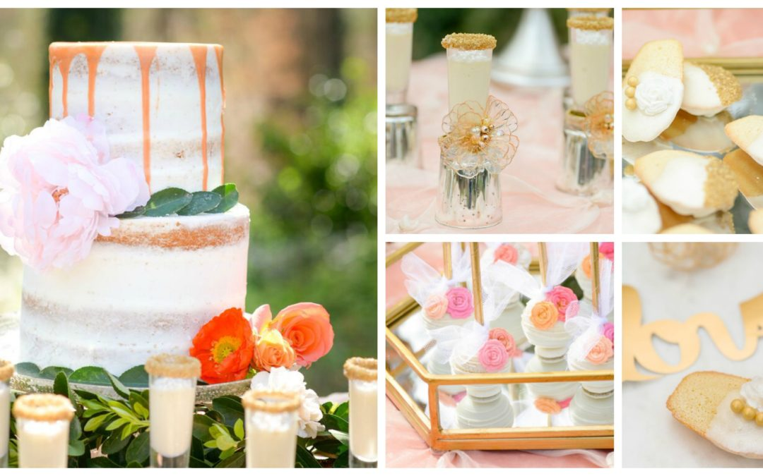 Romantic and Decadent Dessert Table Inspiration