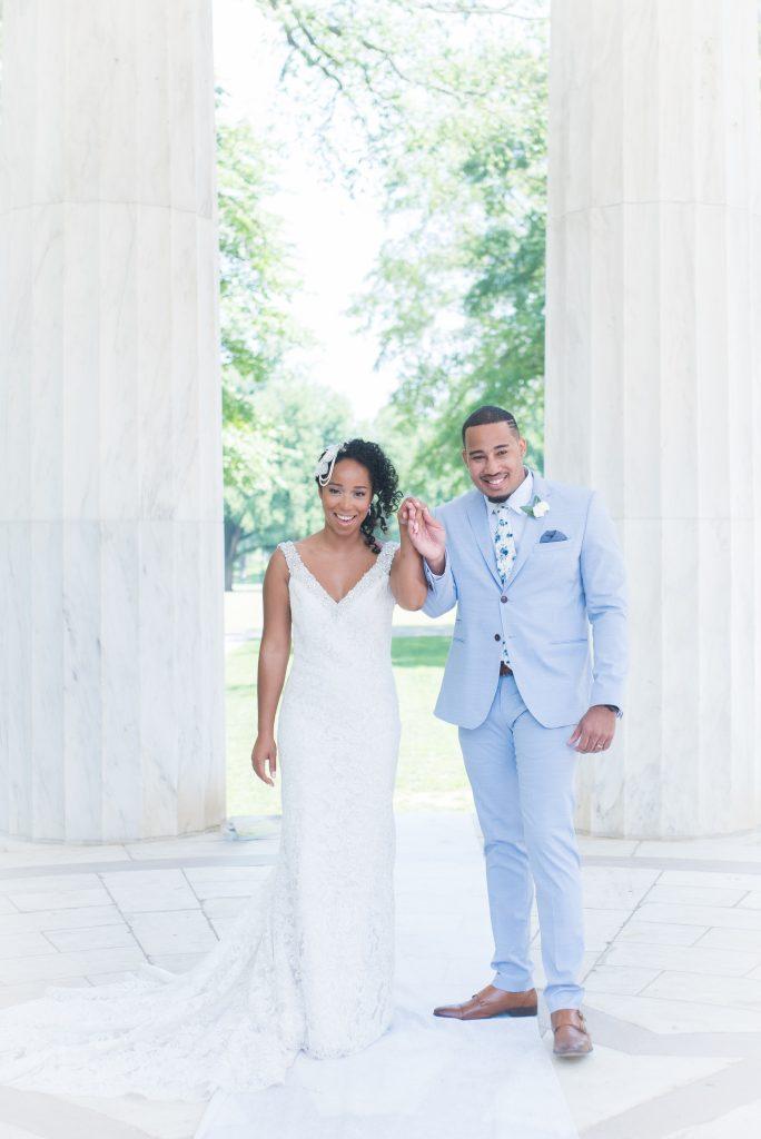 The Coordinated Bride Angelica and Daneal Wedding - Shoot Happens Photography - DC War Memorial-273