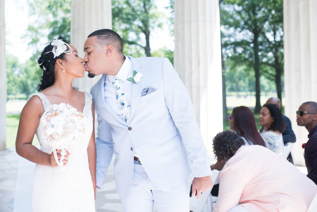 The Coordinated Bride Angelica and Daneal Wedding - Shoot Happens Photography - DC War Memorial-280
