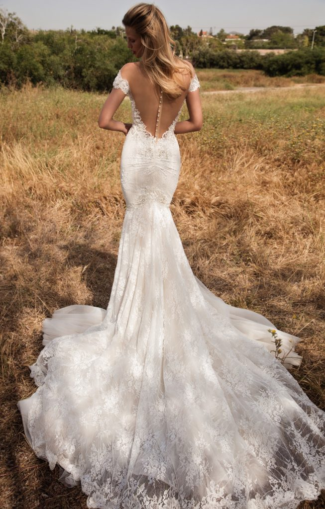The Coordinated Bride Galia Lahav GALA 702 back
