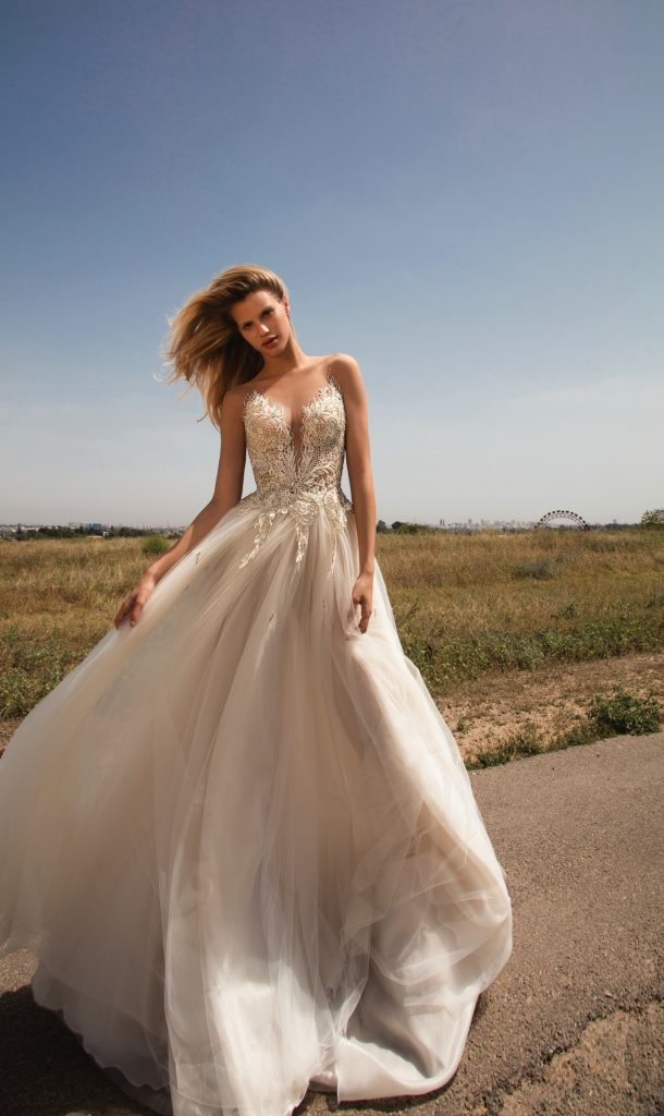 The Coordinated Bride Galia Lahav GALA 706 front