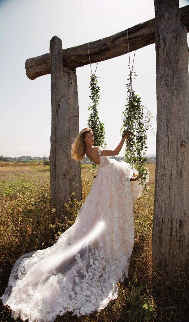 The Coordinated Bride Galia Lahav GALA 710 back