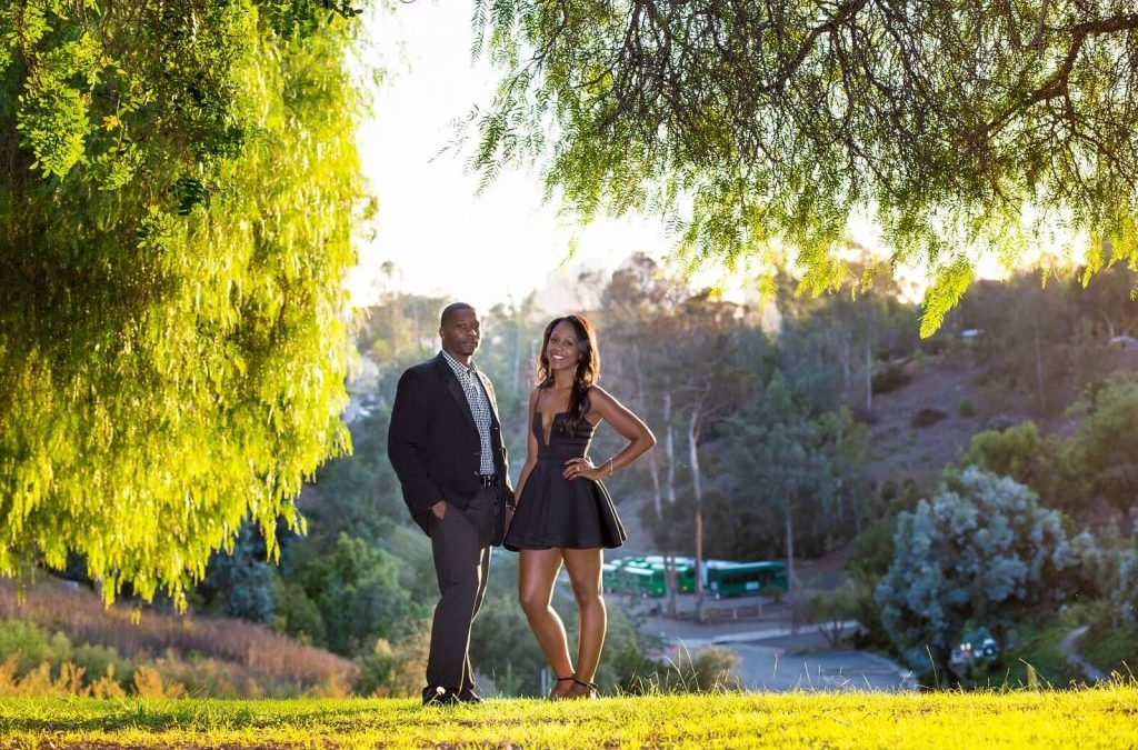 A California Engagement Session, Renita and Jermaine