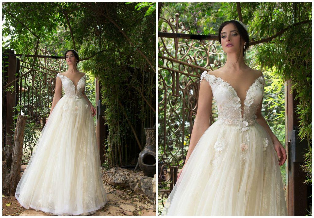 The Coordinated Bride Naama & Anat - Romance 4