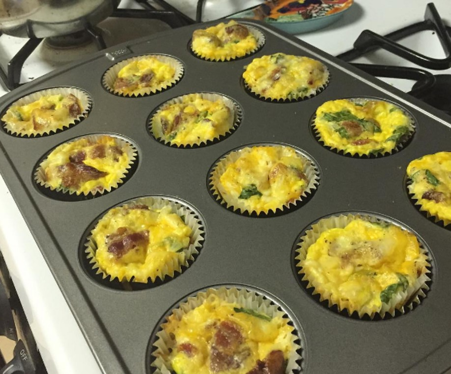 The Coordinated Bride Turkey Sausage Egg Muffins