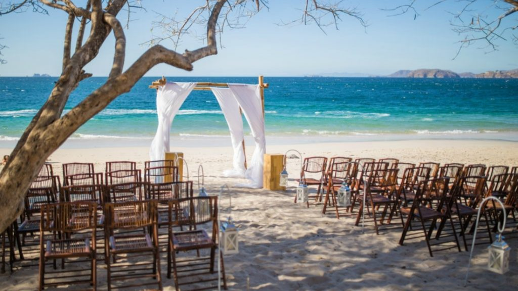 Westin Playa Conchal Beach Wedding