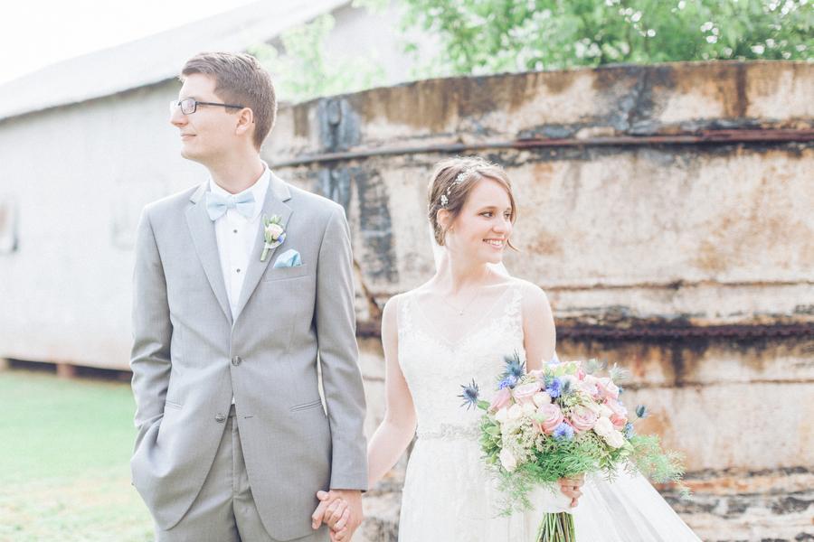 Dixie Cotton Gin Rustic Wedding – Ashton and Darren