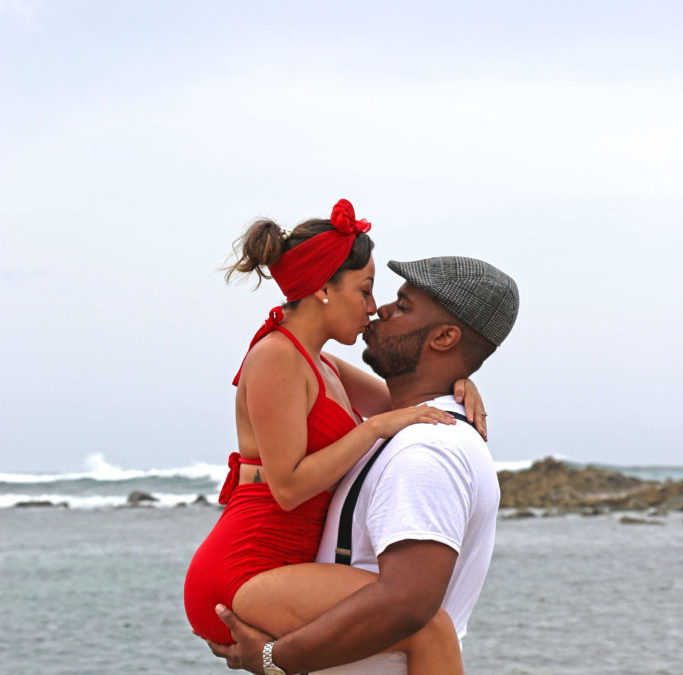 The Notebook Inspired Engagement Shoot in Old San Juan, Puerto Rico