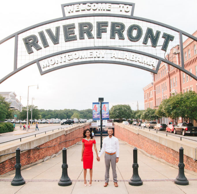 Alabama Riverfront Engagement Shoot