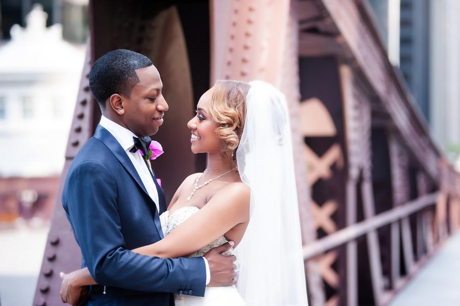Glamorous Downtown Chicago Wedding