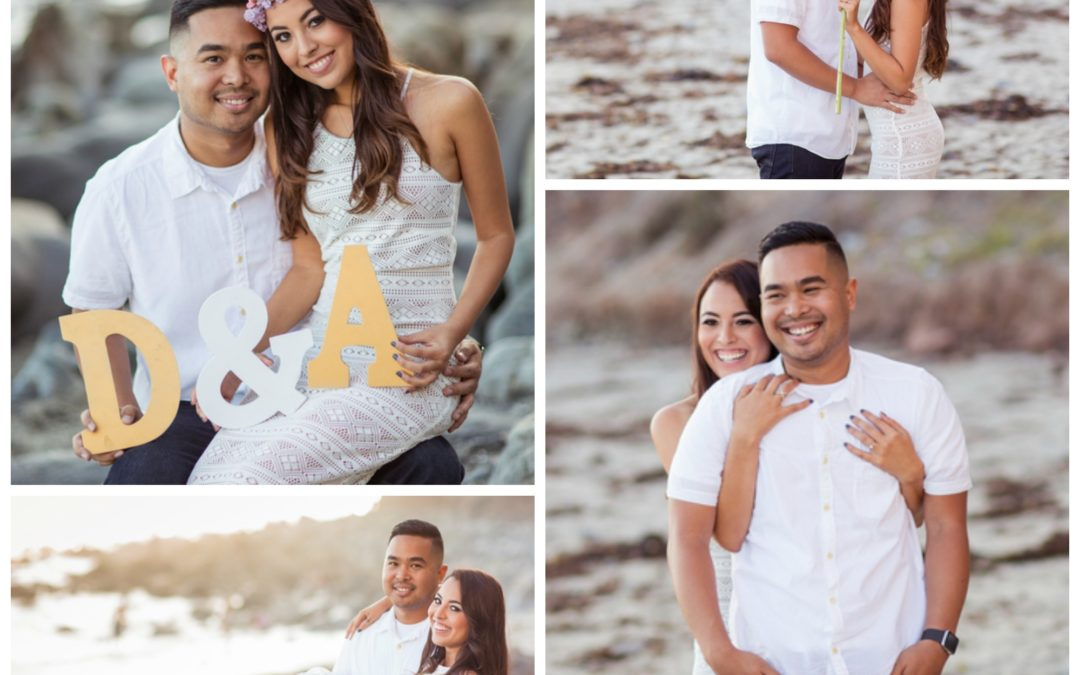 A Romantic and Colorful California Engagement Shoot – Anais and Derek