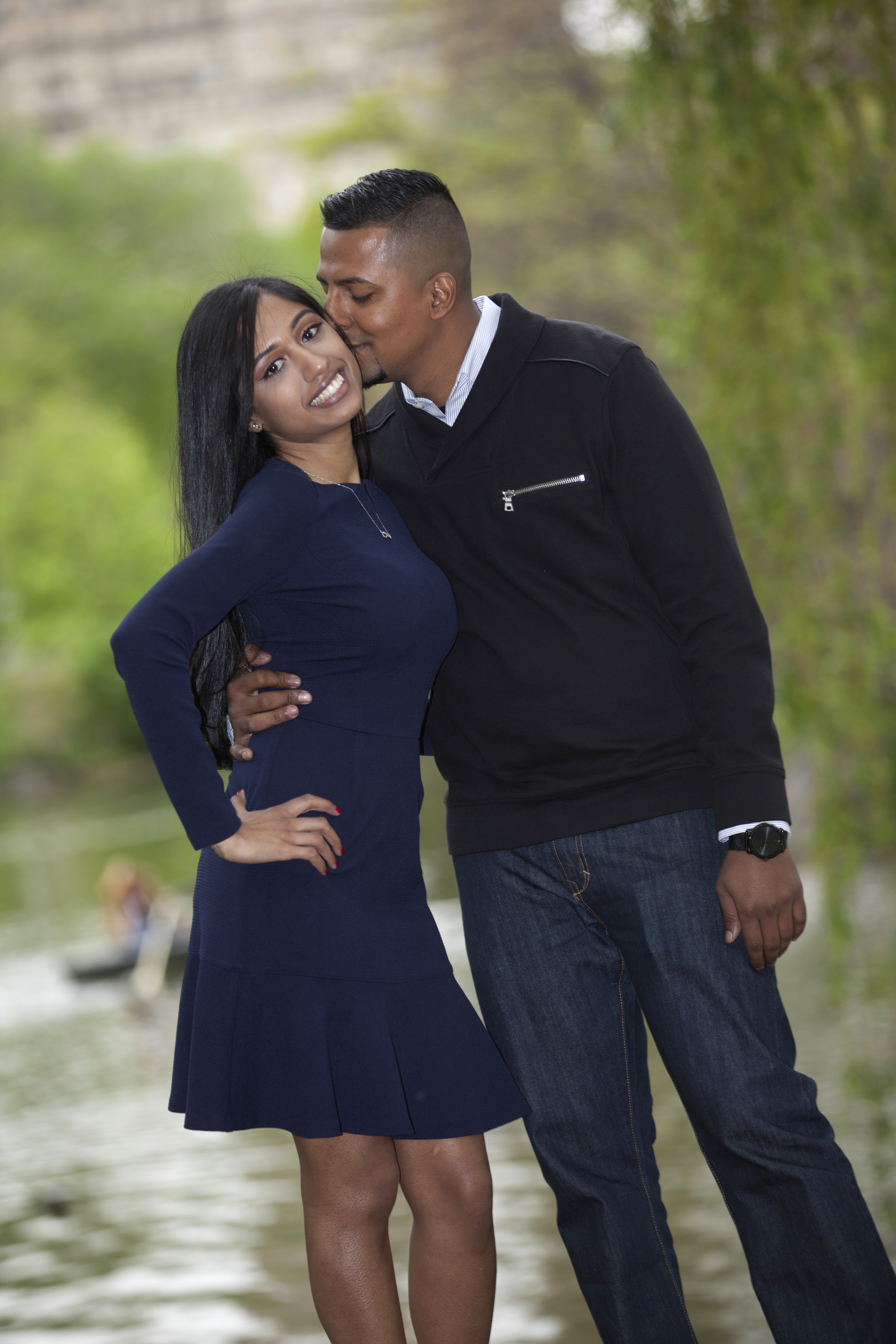 A New York Engagement Shoot, Priya and Adrian