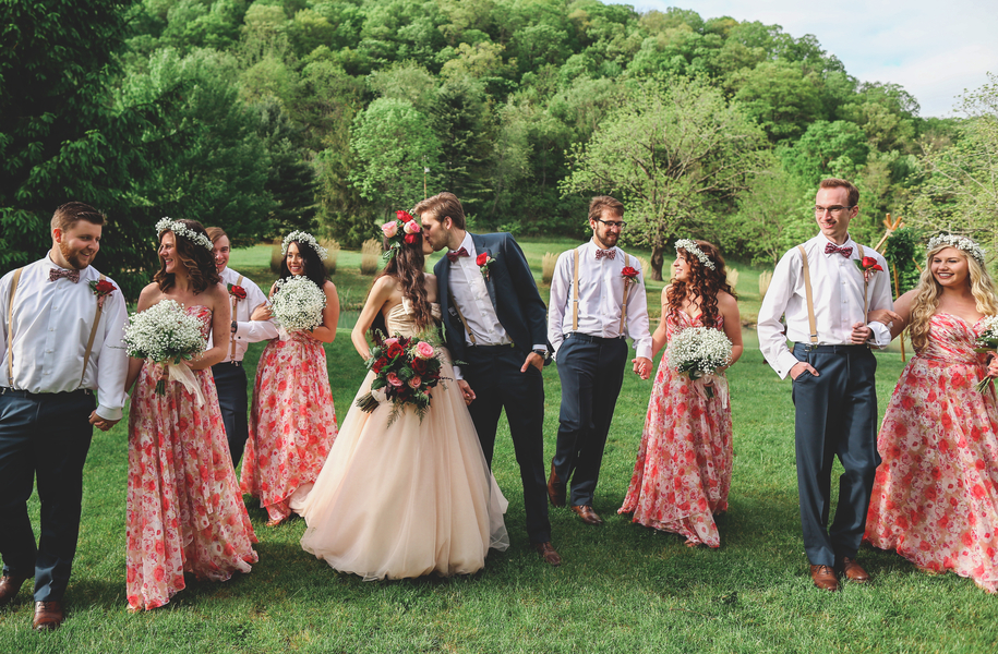 A Cozy West Virginia Bed & Breakfast Wedding