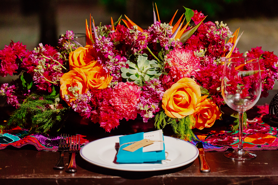 A Colorful Destination Wedding In Mexico