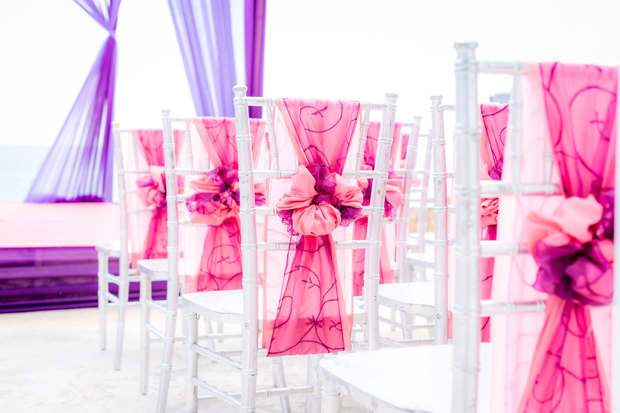 A Vibrant & Colorful Destination Wedding in Negril, Jamaica