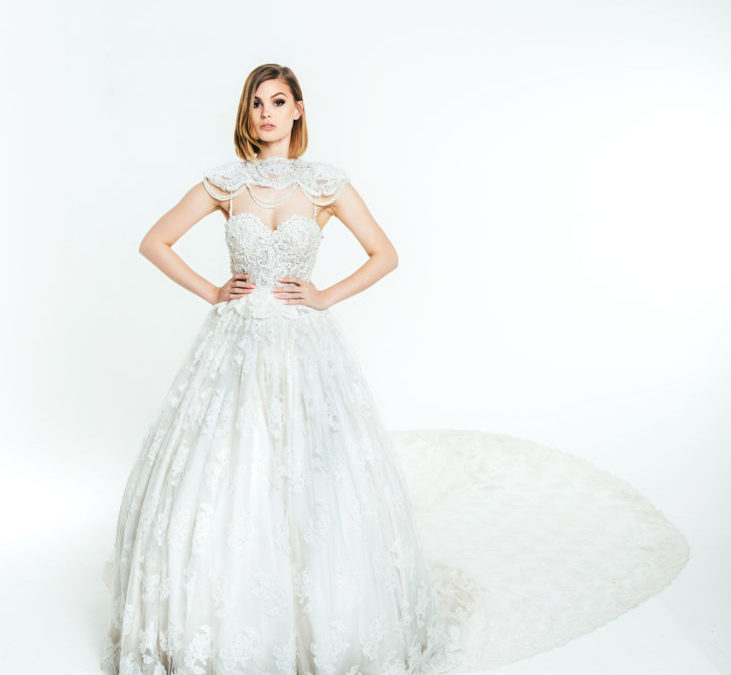 OLIA ZAVOZINA Fall 2017 – New York Bridal Fashion Week