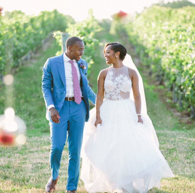 GUEST BRIDE BLOGGER DEANDREA {JE #3} VOWS ON THE VINEYARD