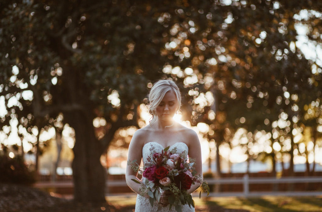 Southern Elegance Sunset Styled Shoot at The Brawley Estate