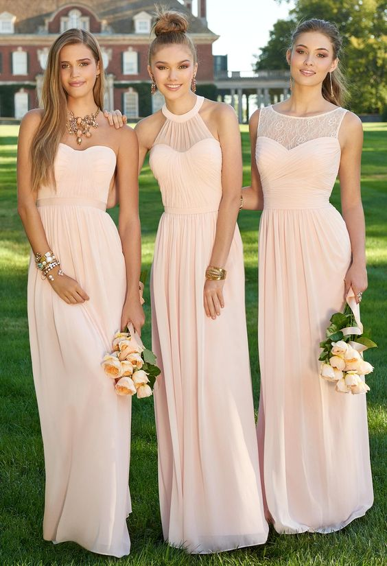 The Coordinated Bride Top 5 Bridesmaid Dress Camille La Vie