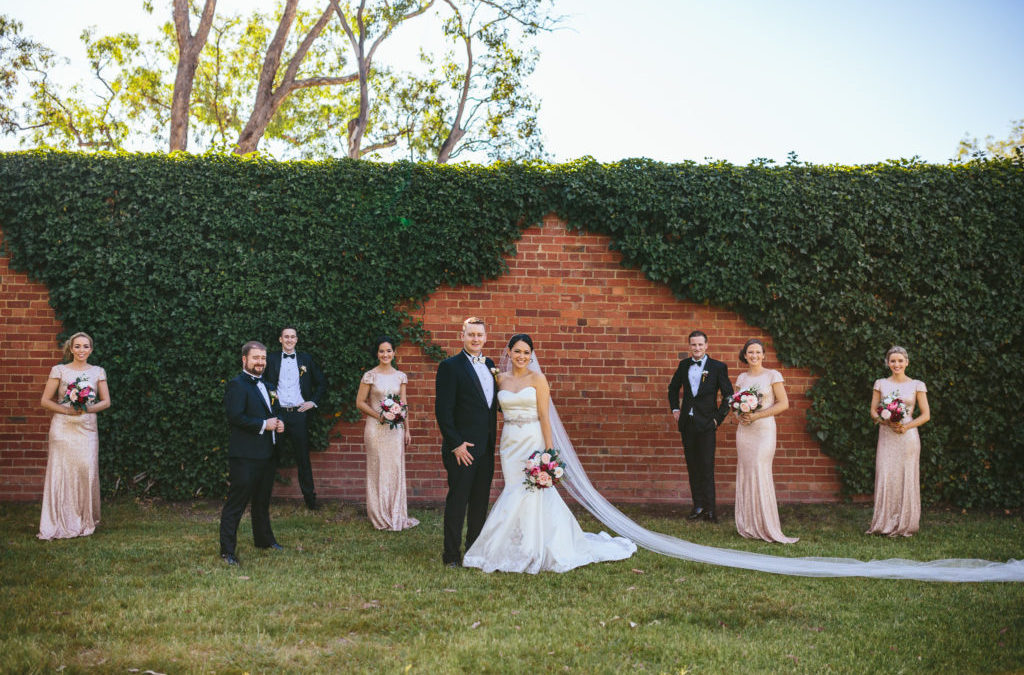 Julia and Michael's Vibrant Wedding in Canberra, Australia